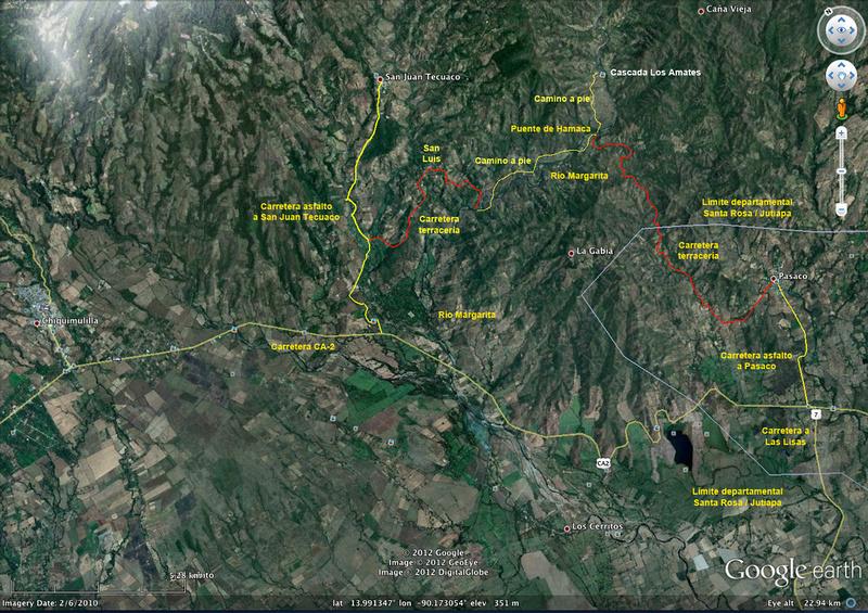 Mapa 1 Amates