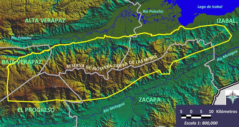 Mapa Sierra Minas